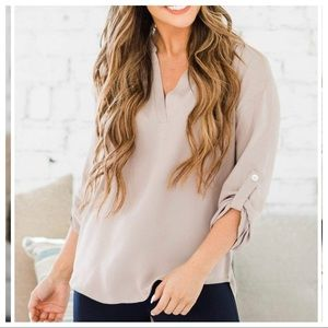 Chic and Fabulous woven Tunic Top